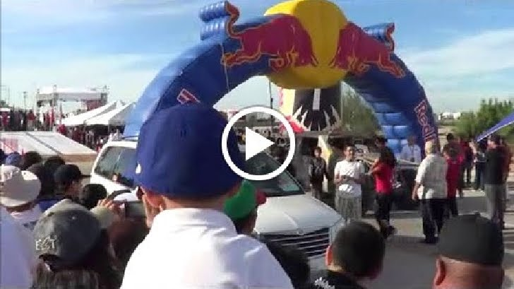 Red Bull Arch at La Paz Meta