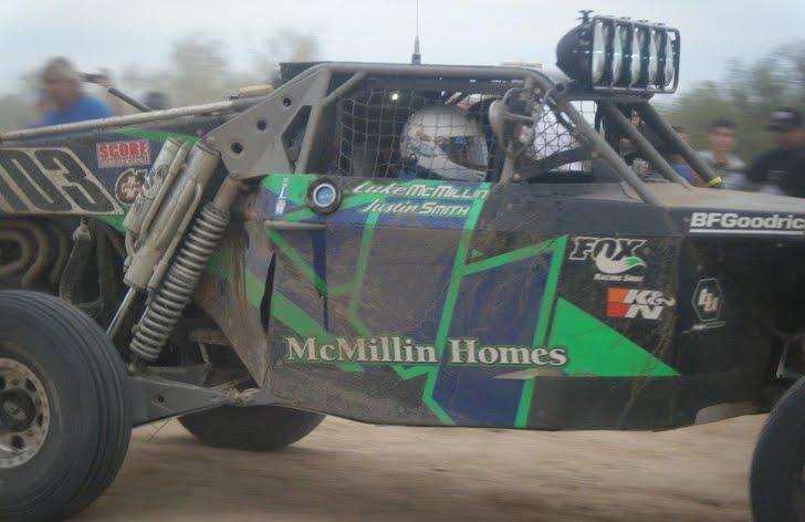 Luke McMillin Class 1 Baja 1000 winner
