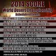 SCORE Intl Desert Series racing 2014 with 6 races